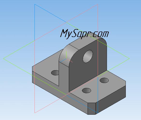 Построение 3д Моделей в Компасе